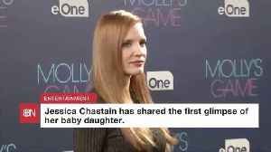 Jessica Chastain Was Thinking Of Her New Baby While Getting Ready For The Golden Globes [Video]