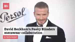 David Beckham Is Leading The Beckham Family This Week In The Fashion Biz [Video]