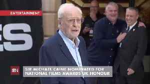 Sir Michael Caine Is Nominated For Another Prestigious Film Award [Video]