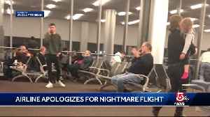 Airline apologizes after 'nightmare' flight [Video]