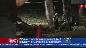 2 Communities Under Boil Water Advisory [Video]