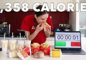 I'm Not Sharing This! McDonald's ShareBox Is No Match for Competitive Eater [Video]