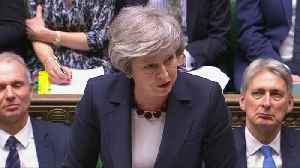 UK PM May says parliament will vote on implementation period extension [Video]
