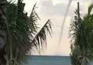 Waterspout Spotted Off Coast of Cancun [Video]