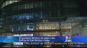 Facebook Boston Opening New Office In Cambridge [Video]