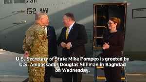 Pompeo makes unannounced visit to Baghdad [Video]