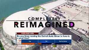 News video: Detroit Auto Show moving to June in 2020; Will bring events throughout city