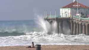 High surf to pummel Southern California coast, sparking warnings [Video]
