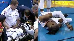 OKC Thunder's Nerlens Noel HOSPITALIZED After His Head BOUNCES On The Court! [Video]