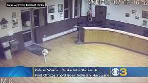 Pennsylvania Woman Breaks Into Police Station Looking For Cop She Wanted To Date, Authorities Say [Video]