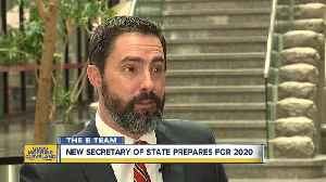 It may be 2019, but new Ohio Secretary of State Frank LaRose is already looking ahead to 2020 [Video]