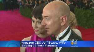 Miami's Own Amazon CEO Jeff Bezos, Wife Divorcing After 25 Years [Video]