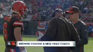 Browns OL Chris Hubbard reacts to Kitchens promotion to head coach [Video]