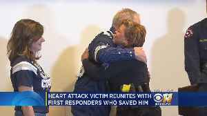Heart Attack Survivor Reunites With First Responders Who Saved Him [Video]