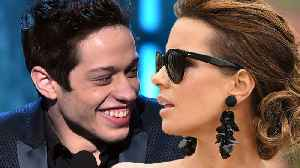 News video: Kate Beckinsale Sort Of CONFIRMS Her & Pete Davidson Are A Thing!