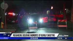 Neighbors describe moments of deadly officer-involved shooting, victim identified [Video]