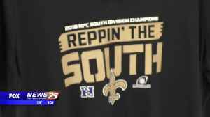 Saints fans gearing up for the playoffs [Video]