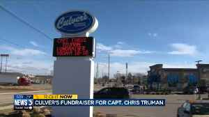 Lake Mills Culver's holds fundraiser for fire captain killed in crash [Video]
