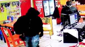 Police searched for armed robbery suspects [Video]