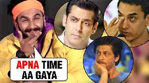 Ranveer Singh REACTS To Salman Khan, Shah Rukh Khan, Aamir Khan FLOPS In 2018 [Video]