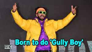 Born to do 'Gully Boy' : Ranveer Singh [Video]