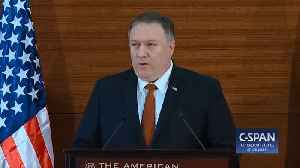 Mike Pompeo Slams Barack Obama In Cairo Speech: 'The Age Of Self-Inflicted American Shame Is Over' [Video]