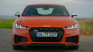 The new Audi TTS Exterior Design in Pulse orange [Video]