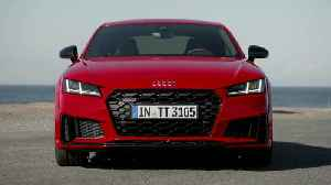 Audi TTS Coupé Exterior Design in Tango red [Video]