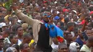 Tshisekedi supporters celebrate election victory in Kinshasa [Video]
