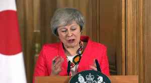 Brexit on the brain? UK PM May repeats 'deal' seven times in 41 words [Video]