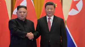 North Korea's Kim Jong Un and China's Xi Jinping Talk About Denuclearization [Video]