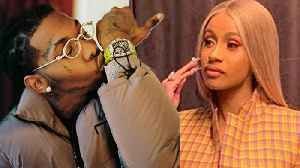 Cardi B UPSET With Offset For Not Helping With Baby Kulture! [Video]