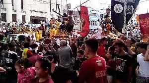 Black Nazarene Procession In The Philippines [Video]