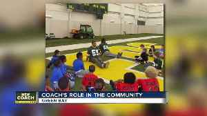 Packers new coach Matt LaFleur's community impact in Wisconsin [Video]