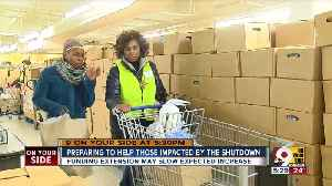 Freestore Foodbank steps in to help those impacted by shutdowno [Video]