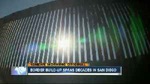 Border fence build-up in San Diego spans decades [Video]