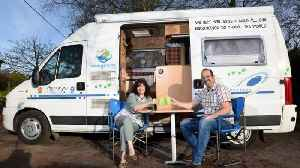 """We've swapped our six bed house to travel the world in camper-van"" – Middle aged couple rent out �5 [Video]"