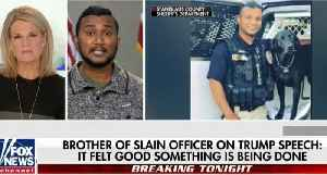 Brother of murdered cop Reggie Singh wants Trump to build border wall [Video]