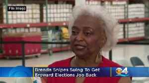 Brenda Snipes files suit against Rick Scott [Video]