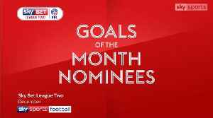 News video: League Two Goal of the Month - December