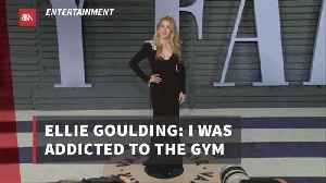 Ellie Goulding Was Completely Addicted To Working Out [Video]
