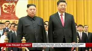 South Korean president believes a second summit is 'imminent' [Video]