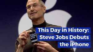 When Steve Jobs Debuted The I Phone: This Day In History [Video]