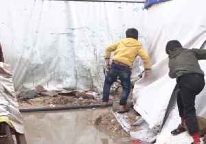 Refugee Camps Flood in Wake of Winter Storm in Lebanon [Video]