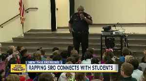 News video: School resource officer raps to connect with students