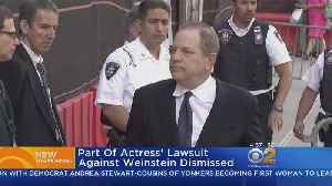 Judge Dismisses Part Of Ashley Judd's Lawsuit Against Weinstein [Video]
