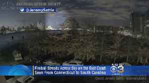 Fireball Streaks Across The Sky On The East Coast [Video]