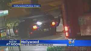 Suspects Sought In Hollywood Carjacking [Video]