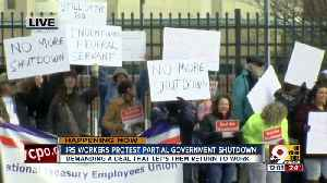 IRS workers protest partial government shutdown [Video]