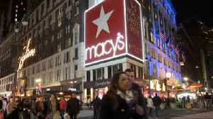 Macy's shares sink, drag down peers [Video]